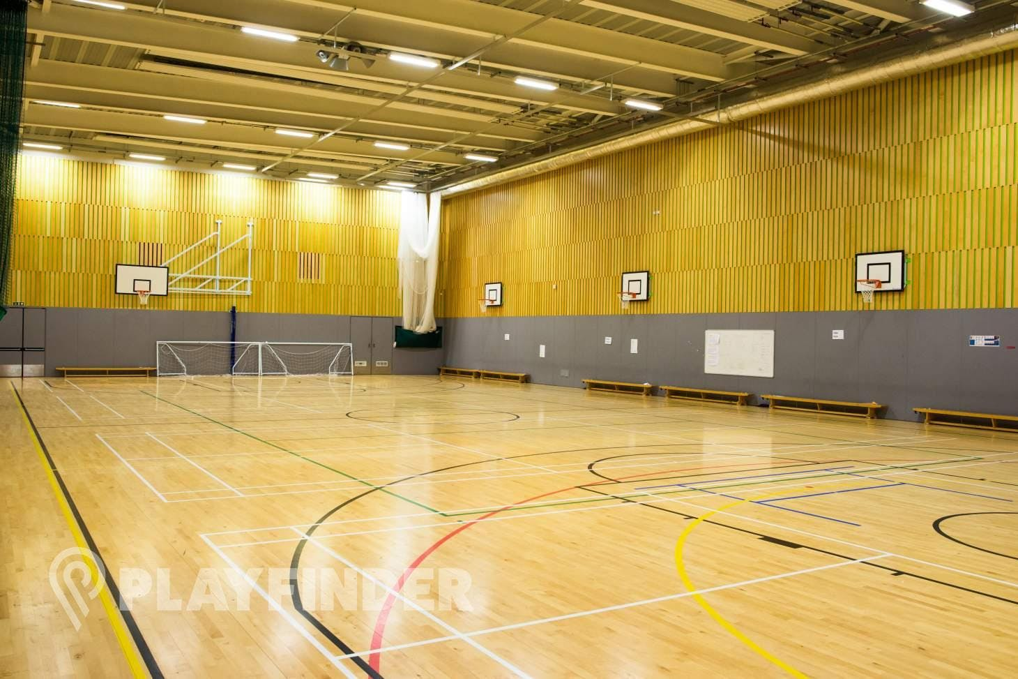 Isaac Newton Academy Indoor | Hard badminton court