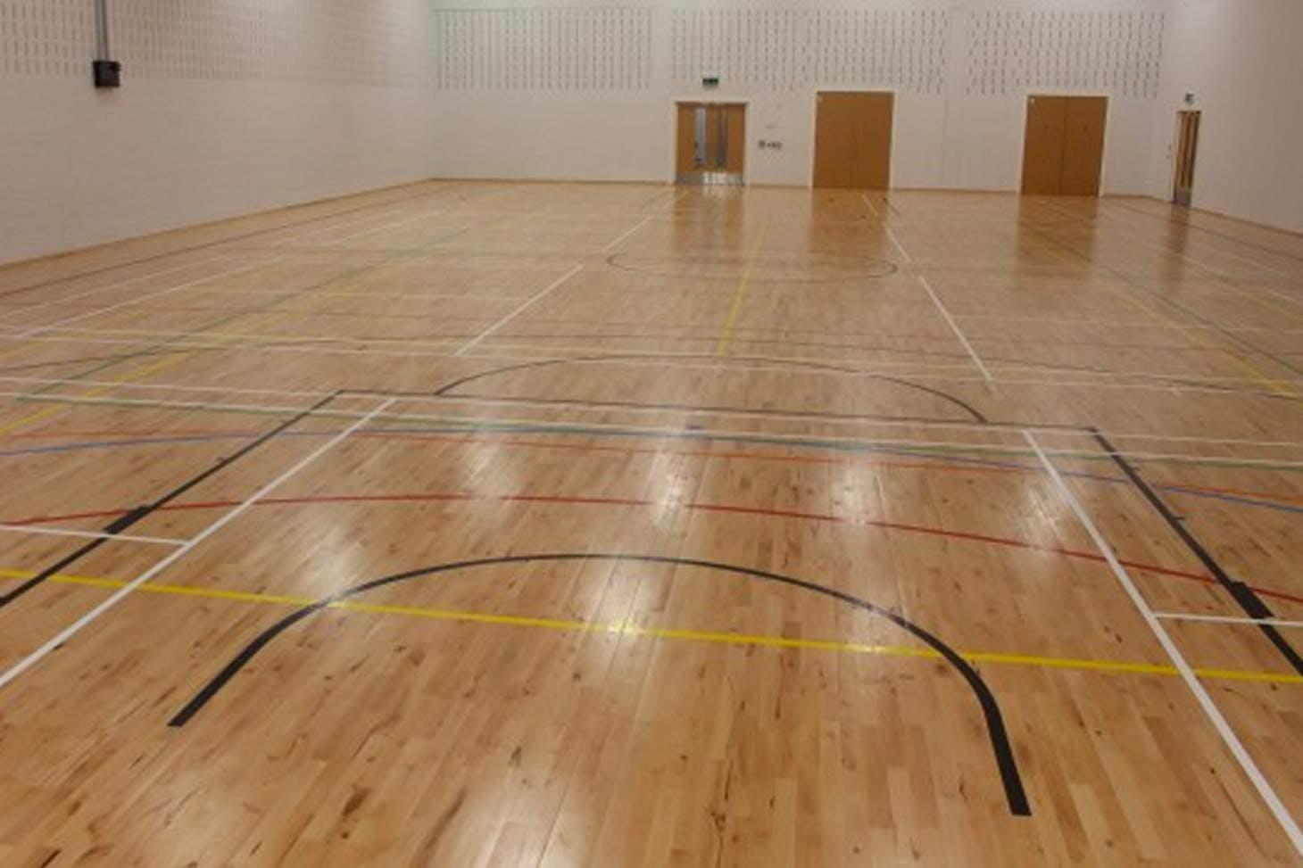 Kensington Primary Academy Indoor   Hard badminton court