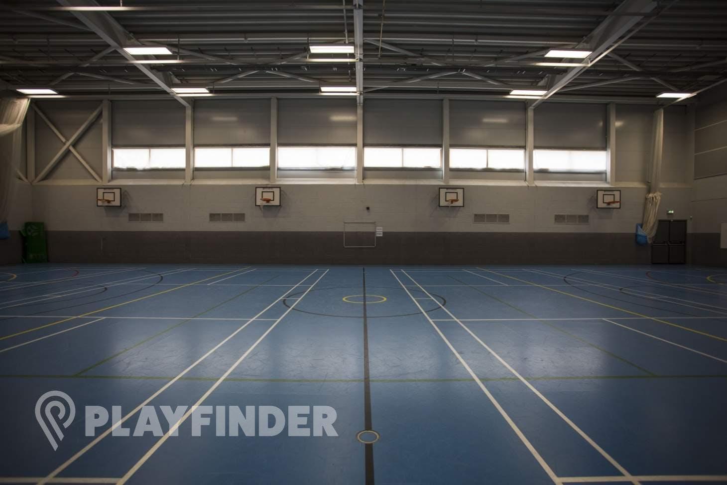 Ark Academy Wembley Indoor   Hard badminton court
