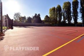 Carshalton High School For Girls   Concrete Football Pitch