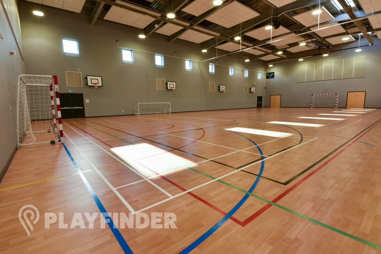 Carshalton High School For Girls Indoor netball court