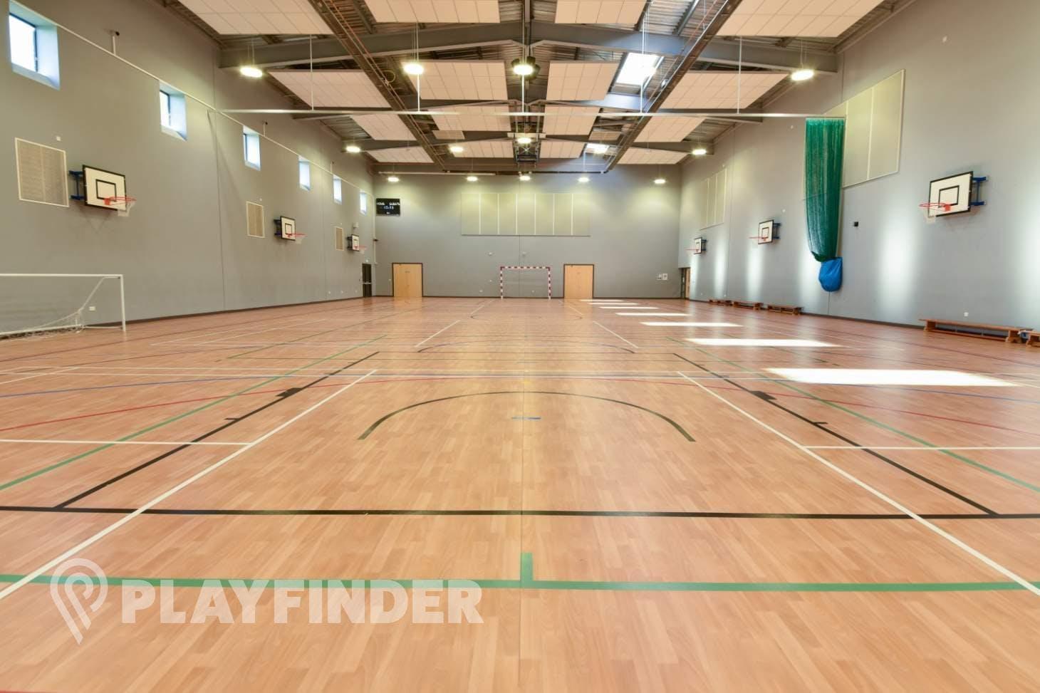 Carshalton High School For Girls Indoor | Hard badminton court