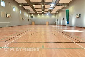 Carshalton High School For Girls | Hard Badminton Court
