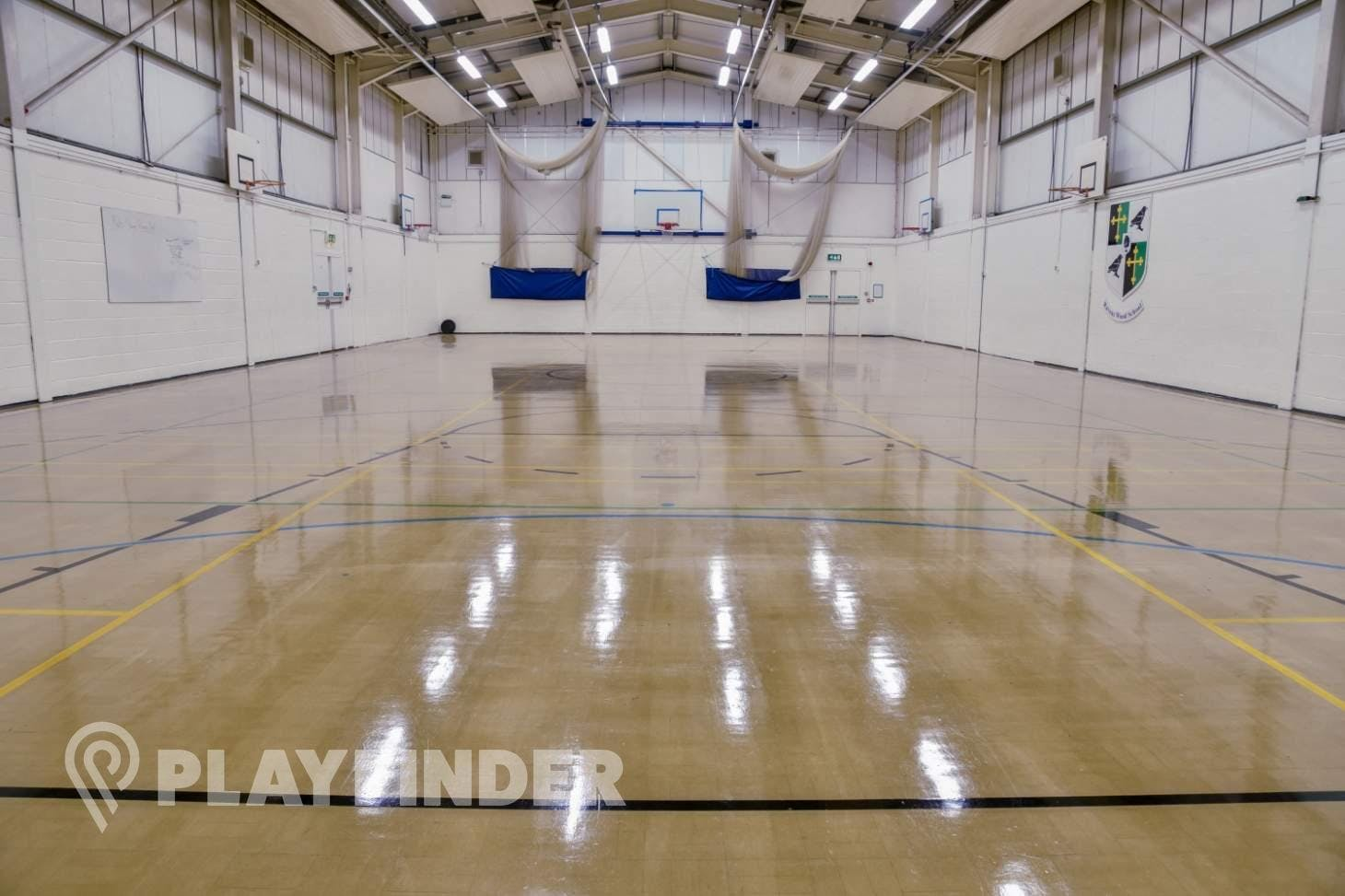 Ravens Wood School Indoor   Hard badminton court