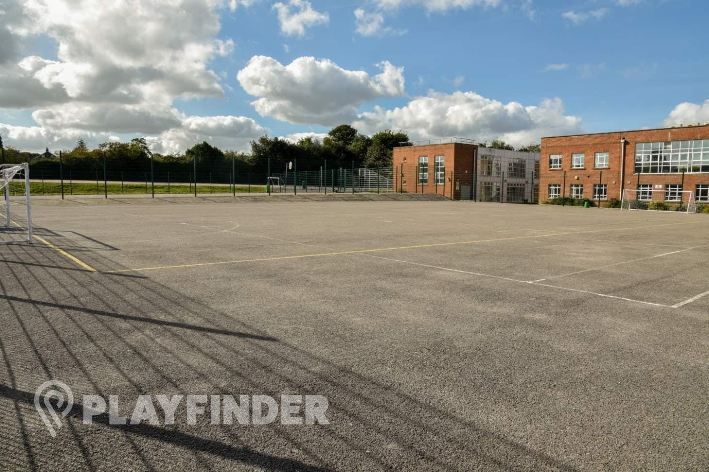 Ravens Wood School 5 a side | Concrete football pitch