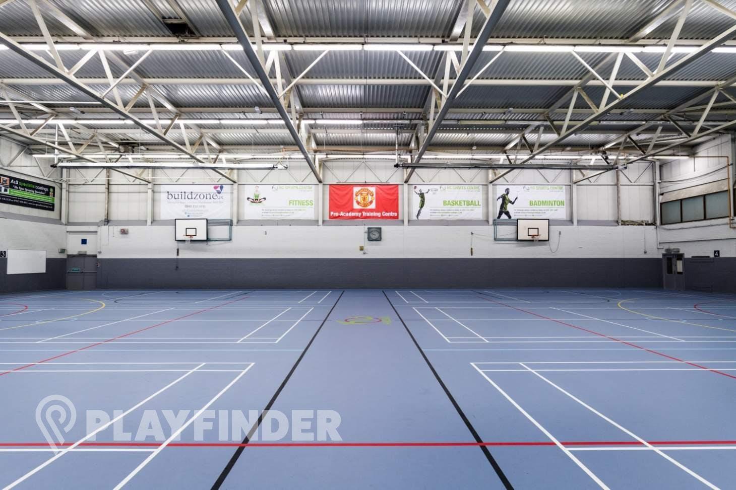 Hazel Grove Sports Centre Indoor | Hard badminton court
