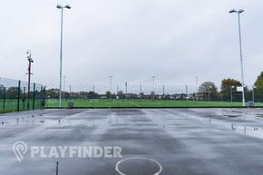 Hazel Grove Sports Centre | Concrete Netball Court