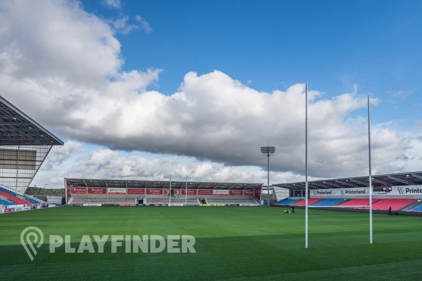 AJ Bell Stadium 11 a side | Grass football pitch