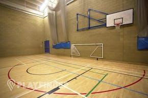 Royal Holloway University Sports Centre | Indoor Netball Court