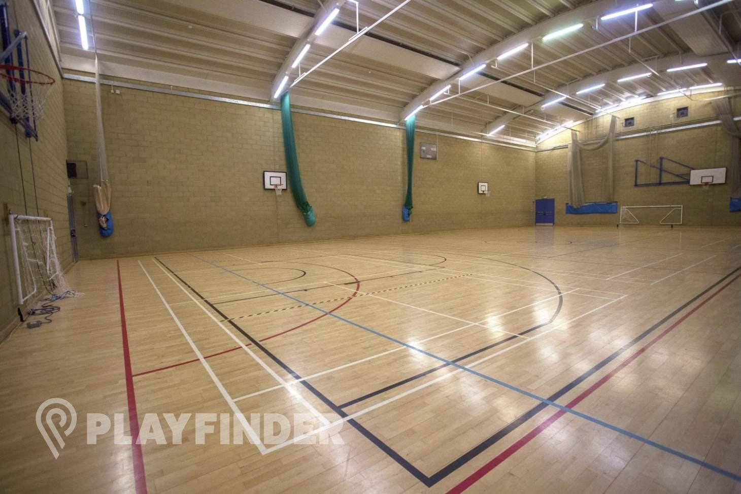 Royal Holloway University Sports Centre Indoor   Hard badminton court