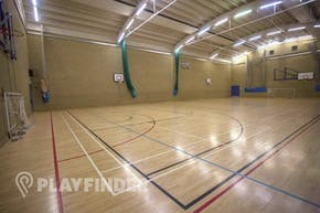 Royal Holloway University Sports Centre | Hard Badminton Court