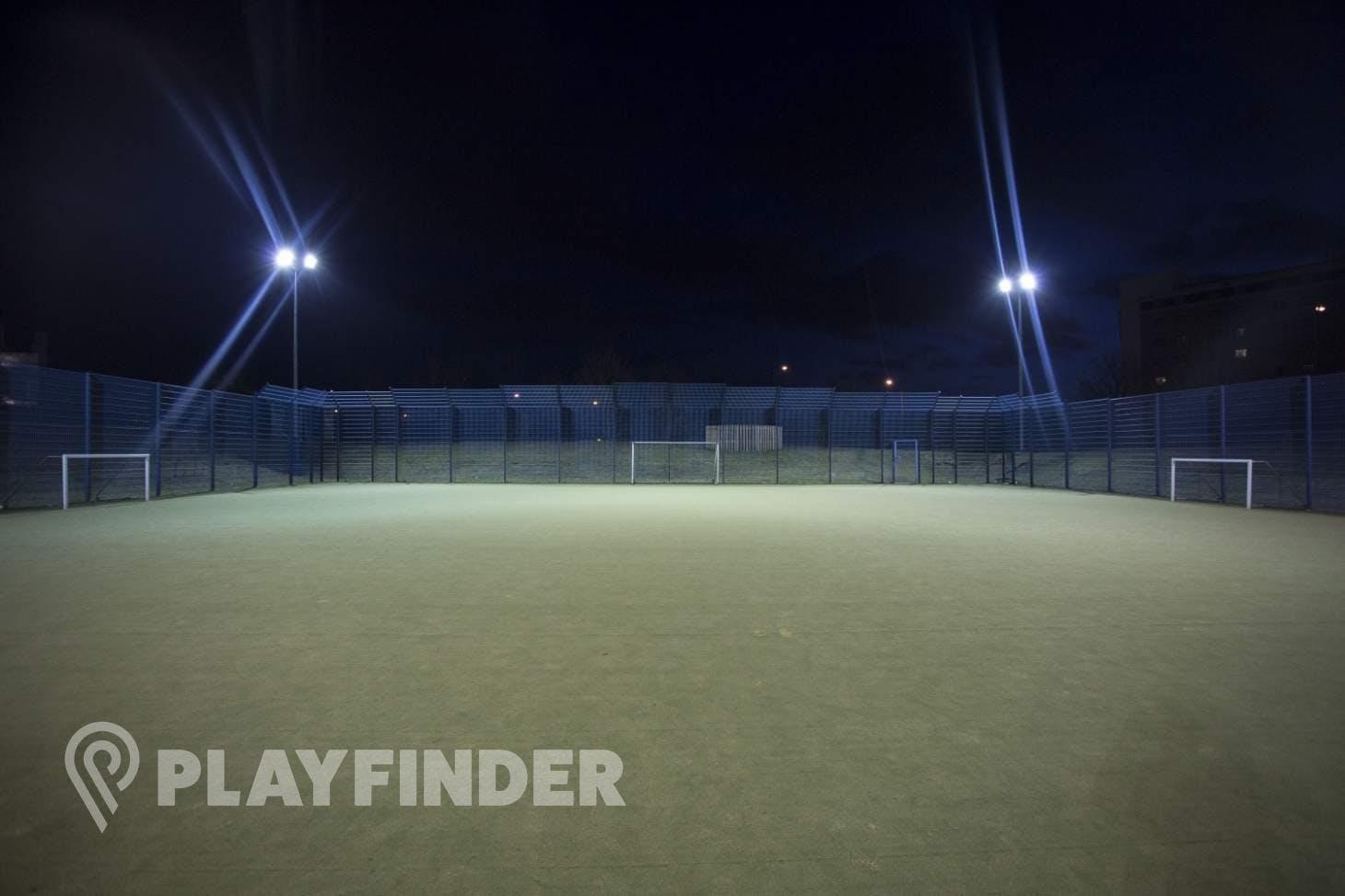 Millennium Primary School Outdoor   Astroturf hockey pitch