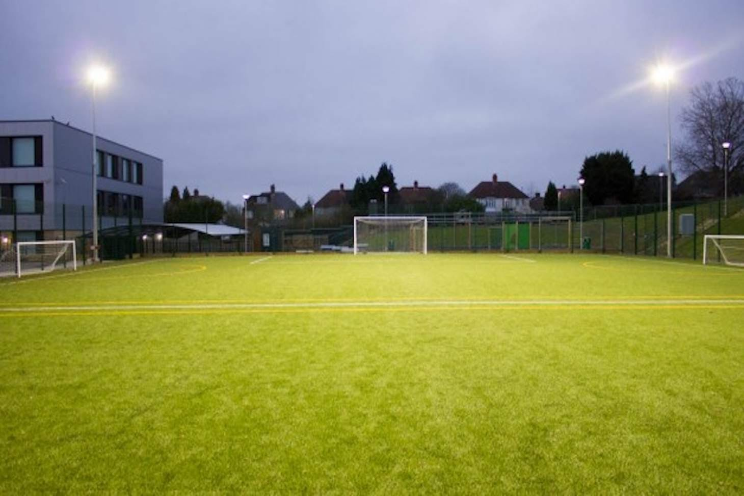 Harris Academy Greenwich 9 a side   3G Astroturf football pitch
