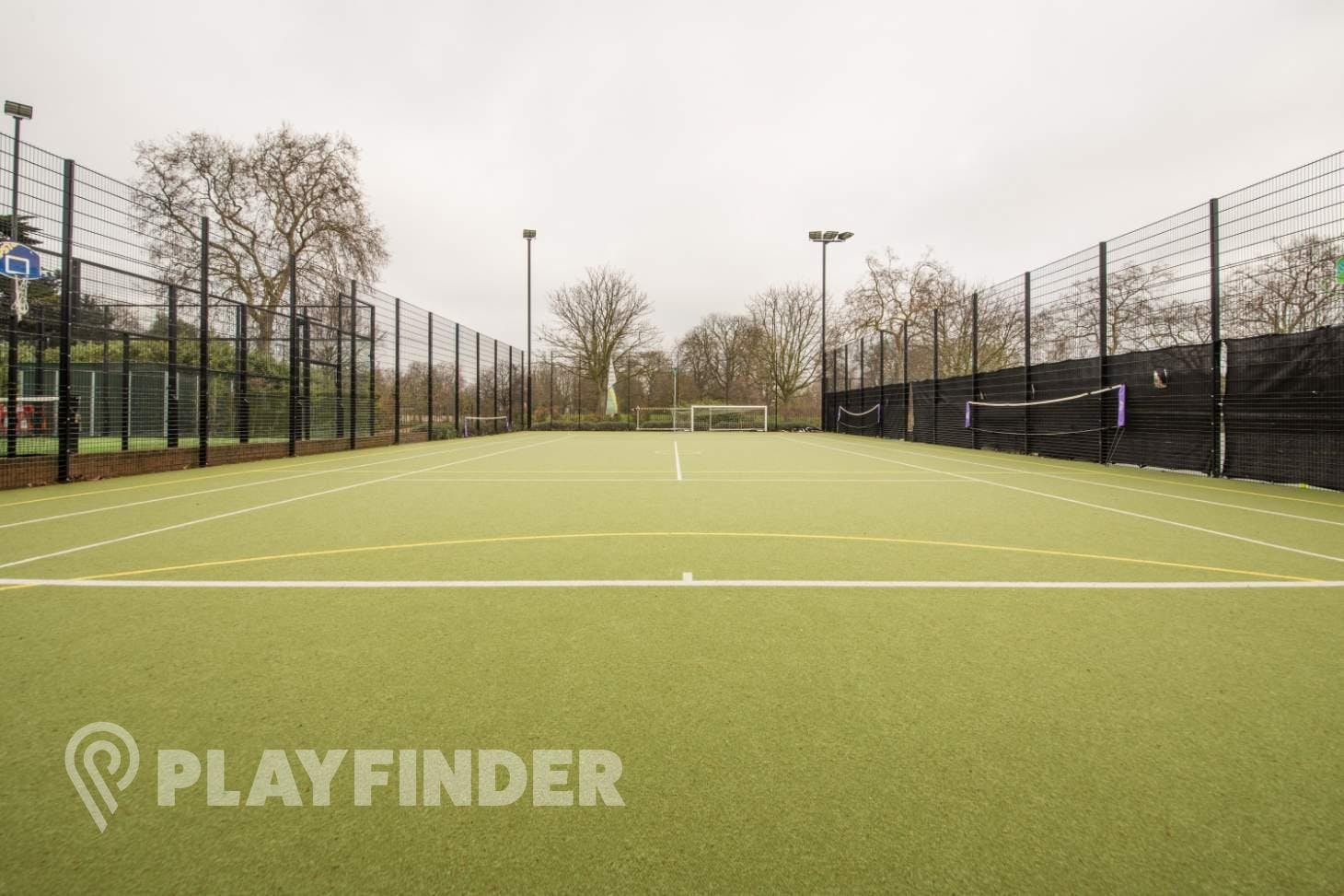 Will To Win Hyde Park Outdoor | Astroturf netball court