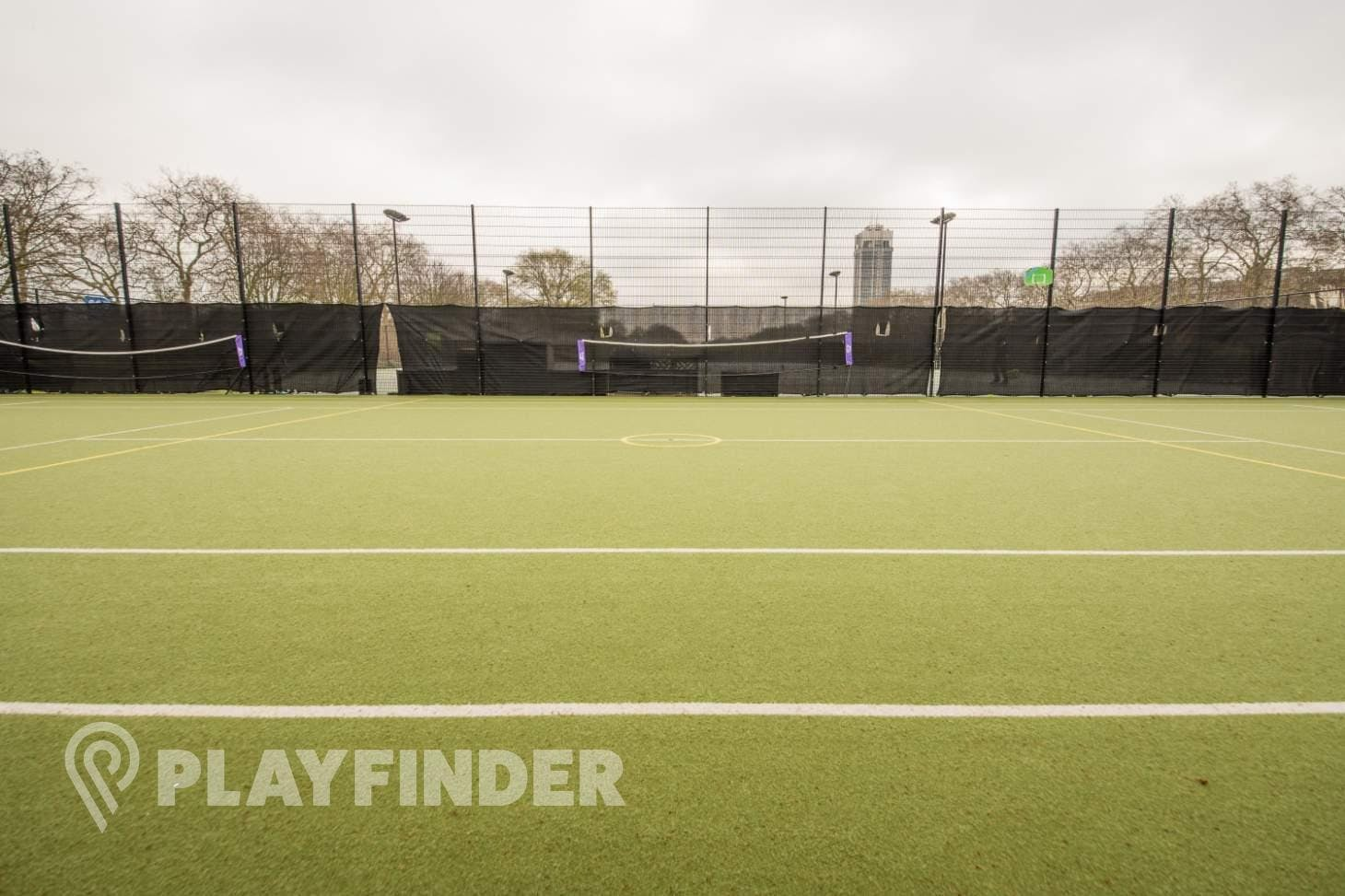 Will To Win Hyde Park 5 a side   Astroturf football pitch