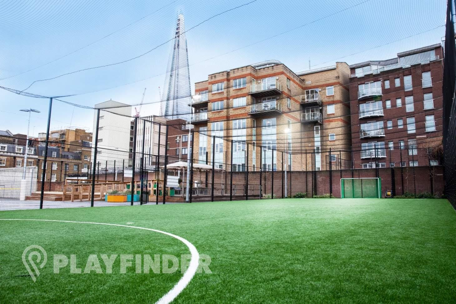 Marlborough Sports Garden, London Bridge - 5aside.org 5 a side | 3G Astroturf football pitch