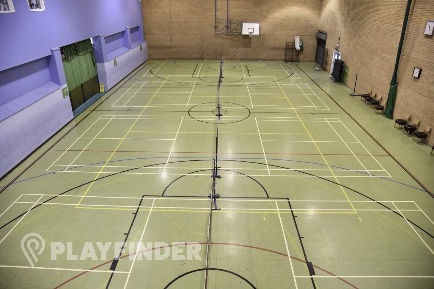 Waterfront Leisure Centre Half court | Sports hall basketball court