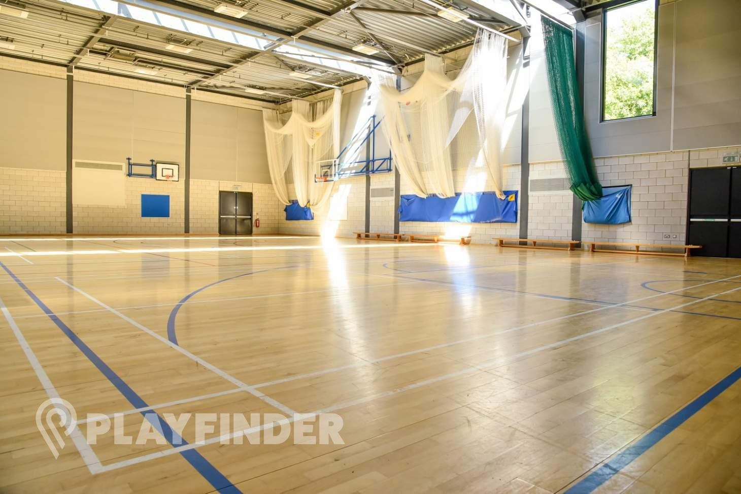 BACA Sports Centre Nets | Sports hall cricket facilities