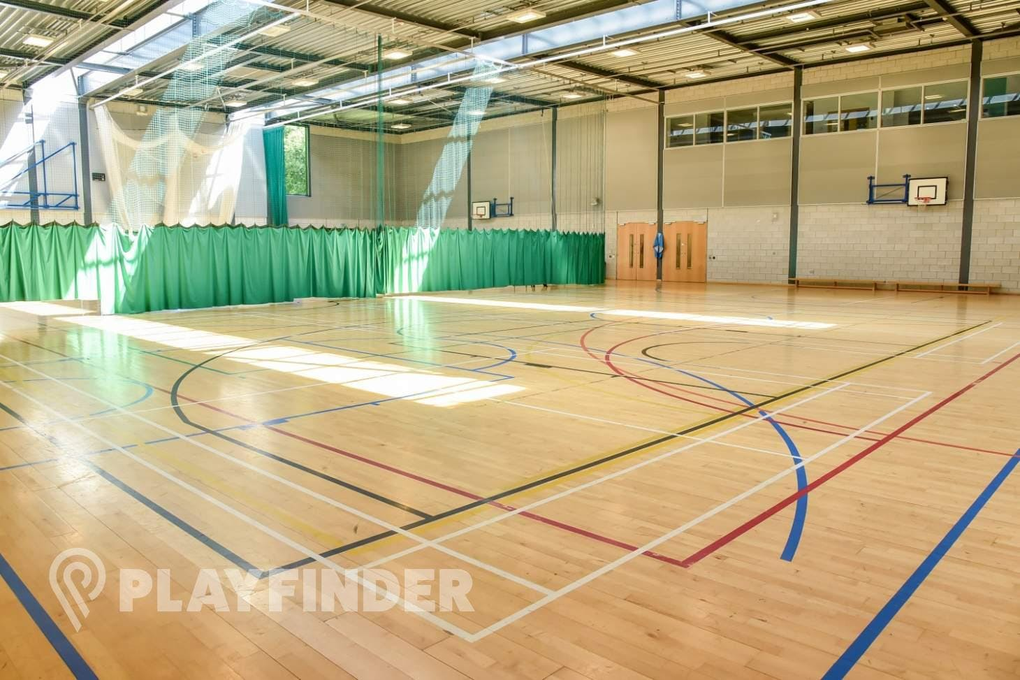 BACA Sports Centre Indoor basketball court
