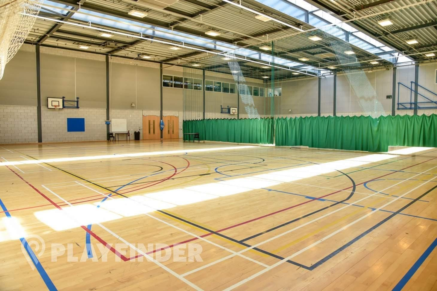 BACA Sports Centre Indoor | Hard badminton court