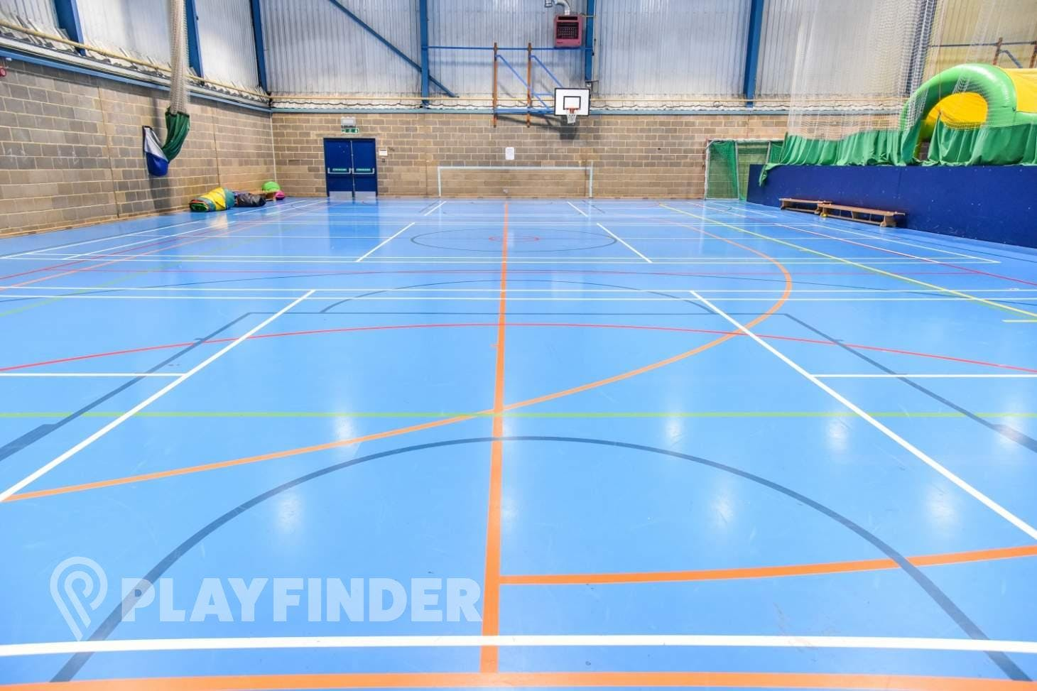 Aldenham School Sports Centre Indoor | Hard badminton court