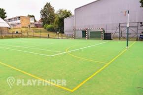 Aldenham School Sports Centre | Astroturf Netball Court