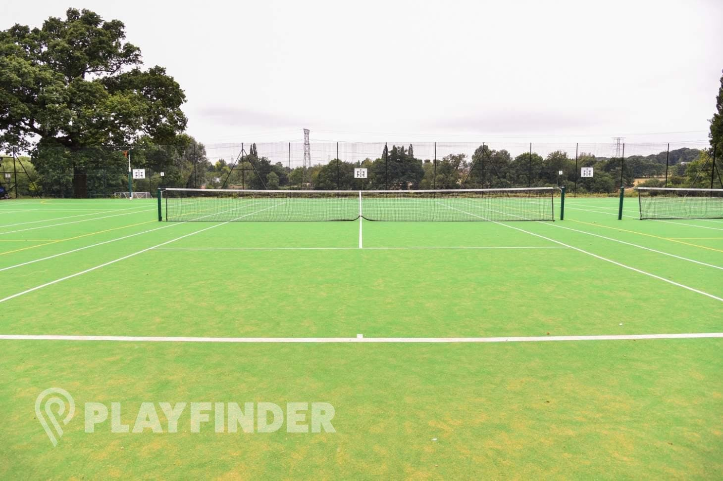 Aldenham School Sports Centre Outdoor | Astroturf tennis court