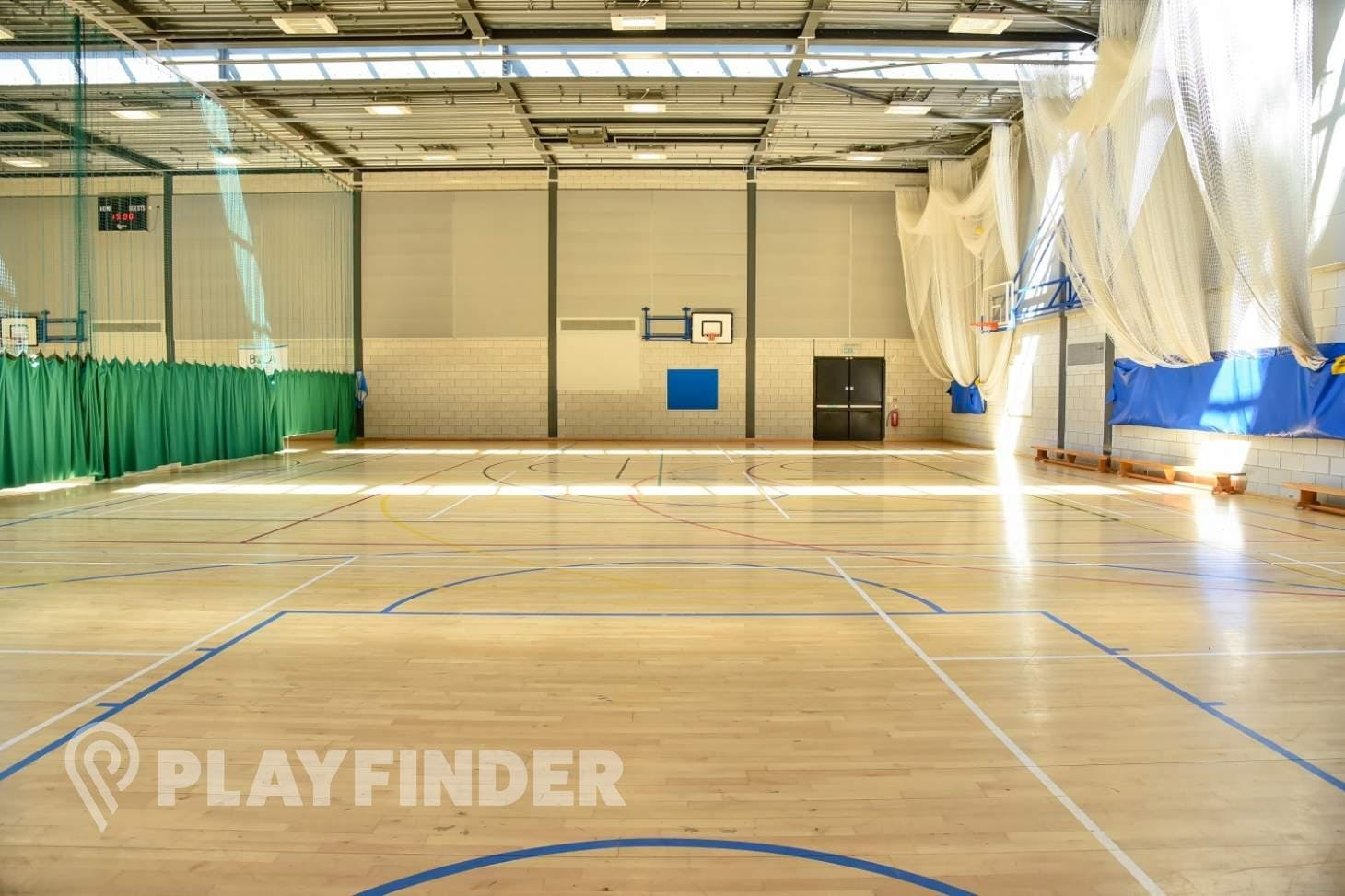 BACA Sports Centre Sports hall space hire