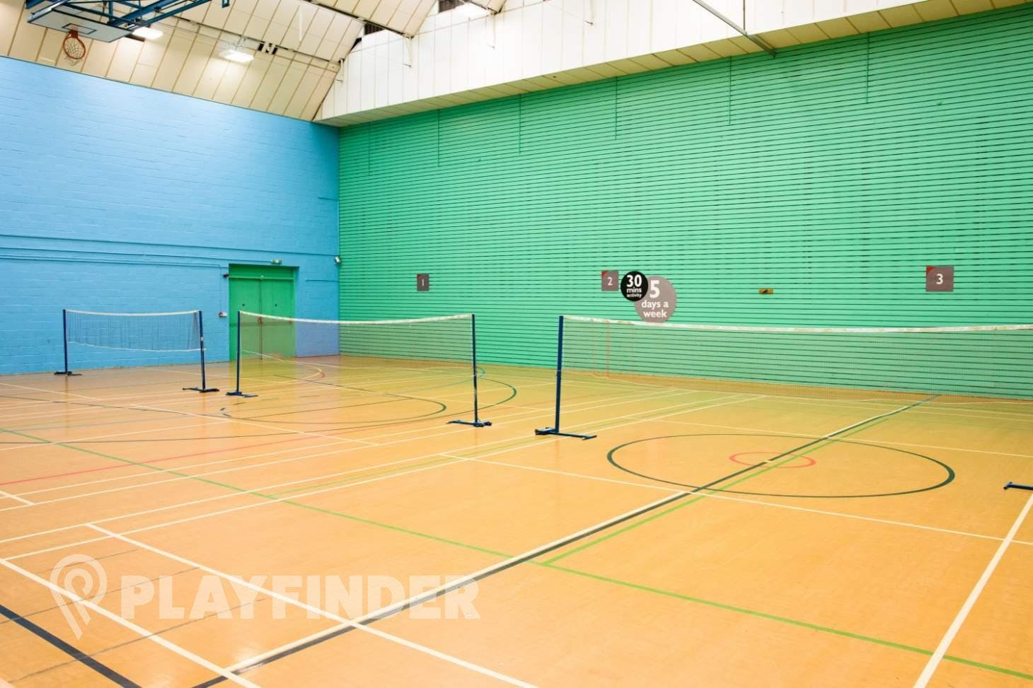Vale Farm Sports Centre Sports hall space hire