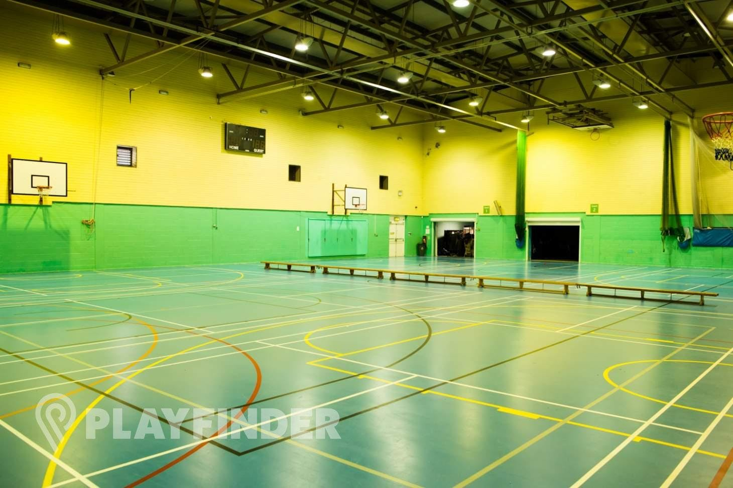 Walthamstow Leisure Centre Sports hall space hire