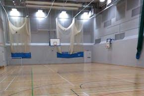 Kensington Aldridge Academy | Sports hall Volleyball Court