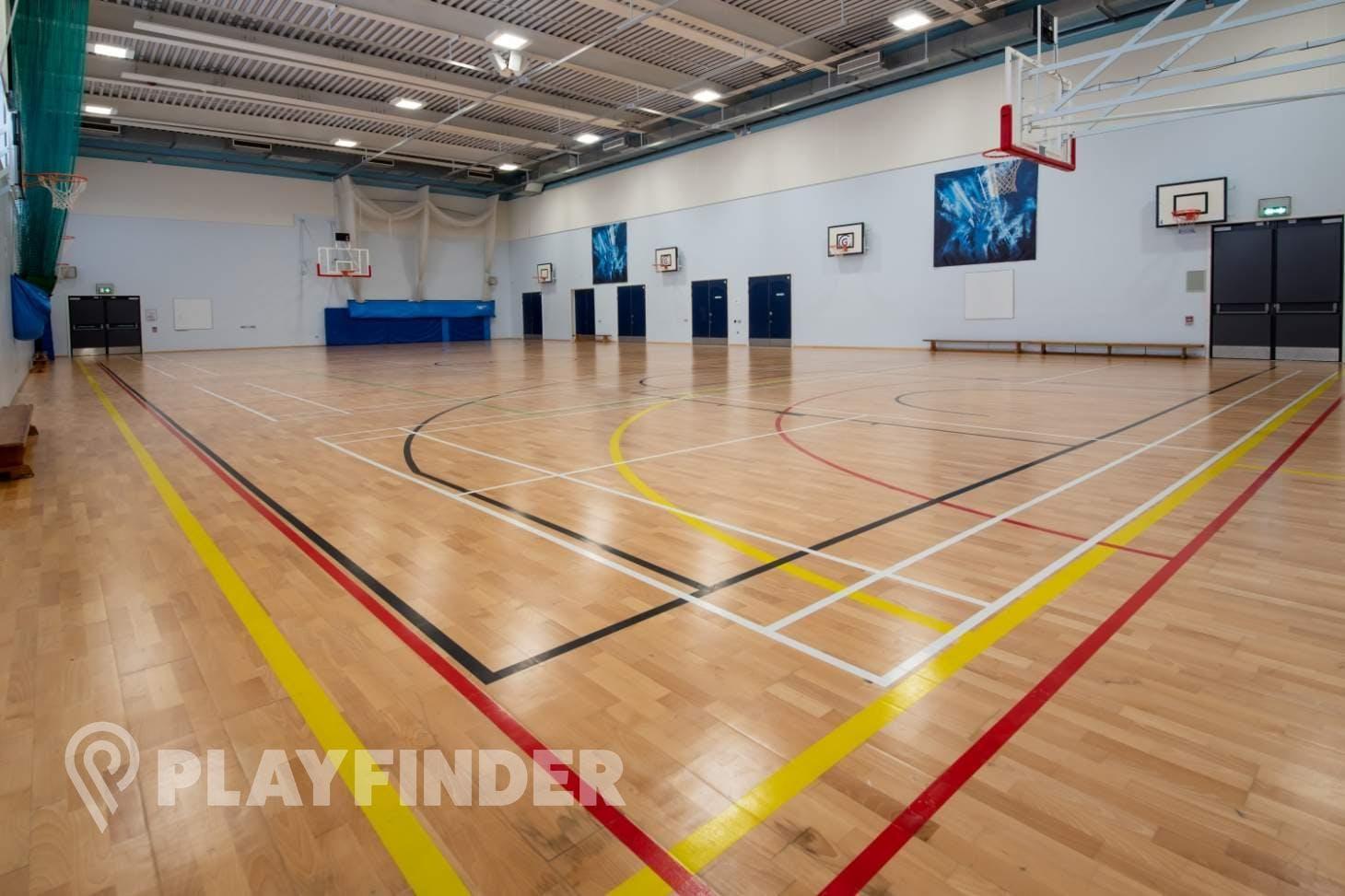 Harris Academy St Johns Wood Indoor netball court