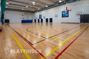 Harris Academy St Johns Wood | Indoor Netball Court