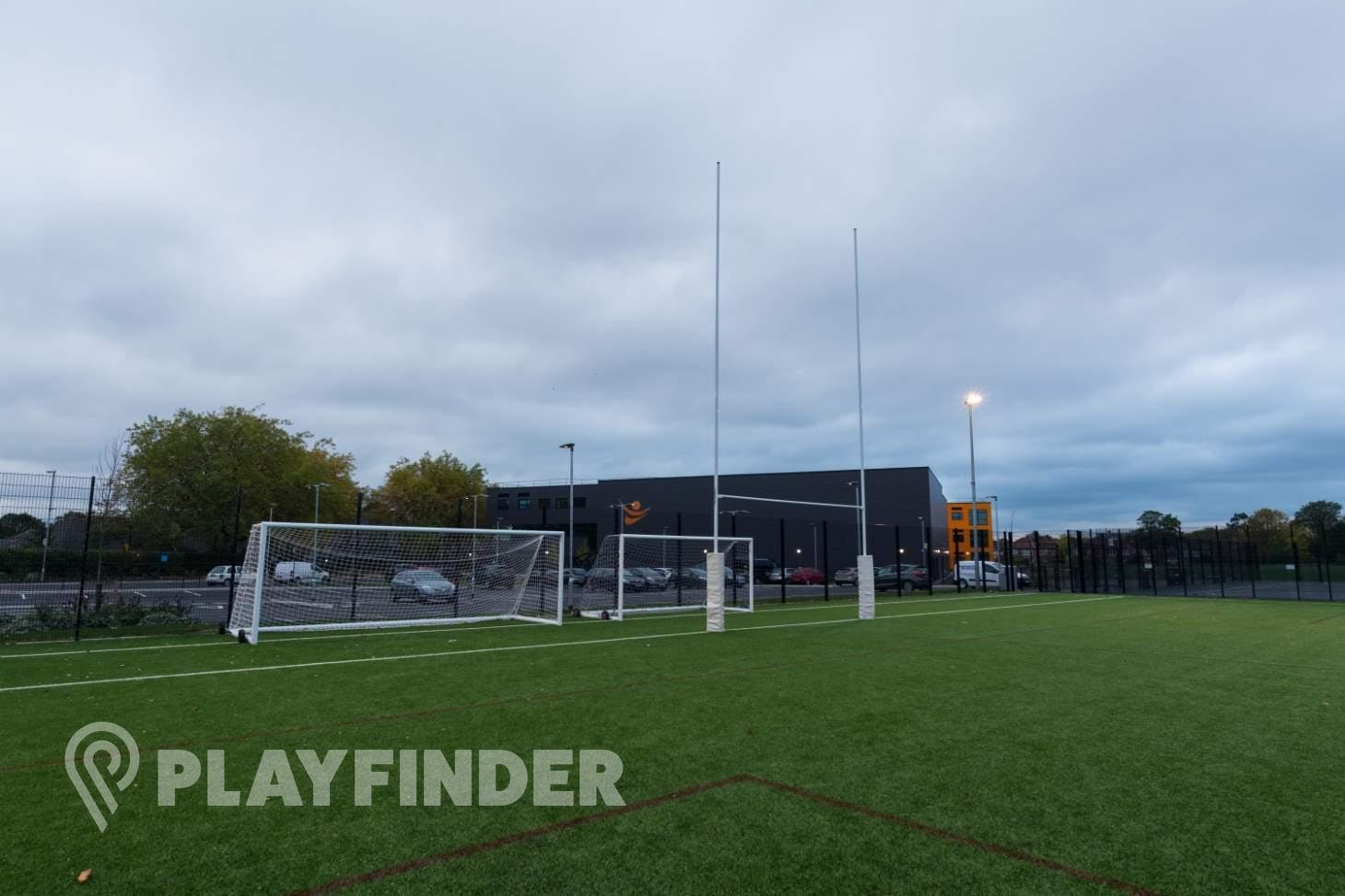 Manchester Enterprise Academy Central Training pitch | 3G Astroturf rugby pitch