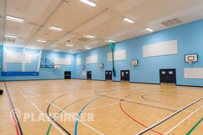 Manchester Enterprise Academy Central | Sports hall Basketball Court