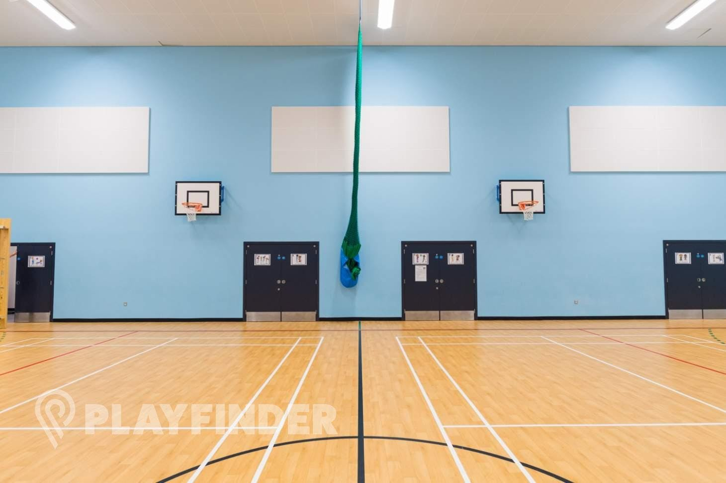Manchester Enterprise Academy Central Indoor badminton court