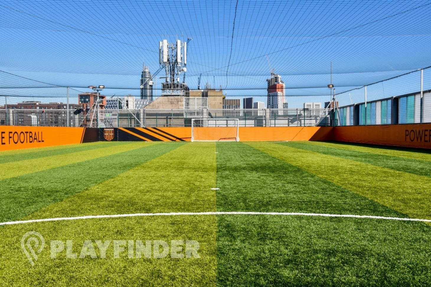 Powerleague Nine Elms 7 a side | 3G Astroturf football pitch