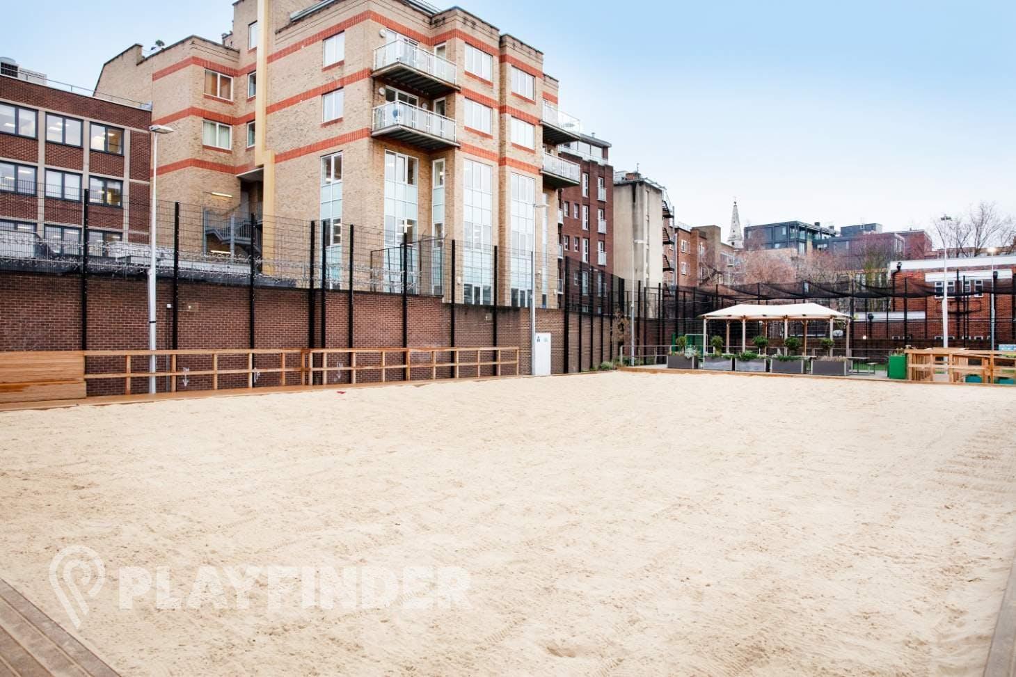 Marlborough Sports Garden, London Bridge - 5aside.org Court | Sand (beach) volleyball court