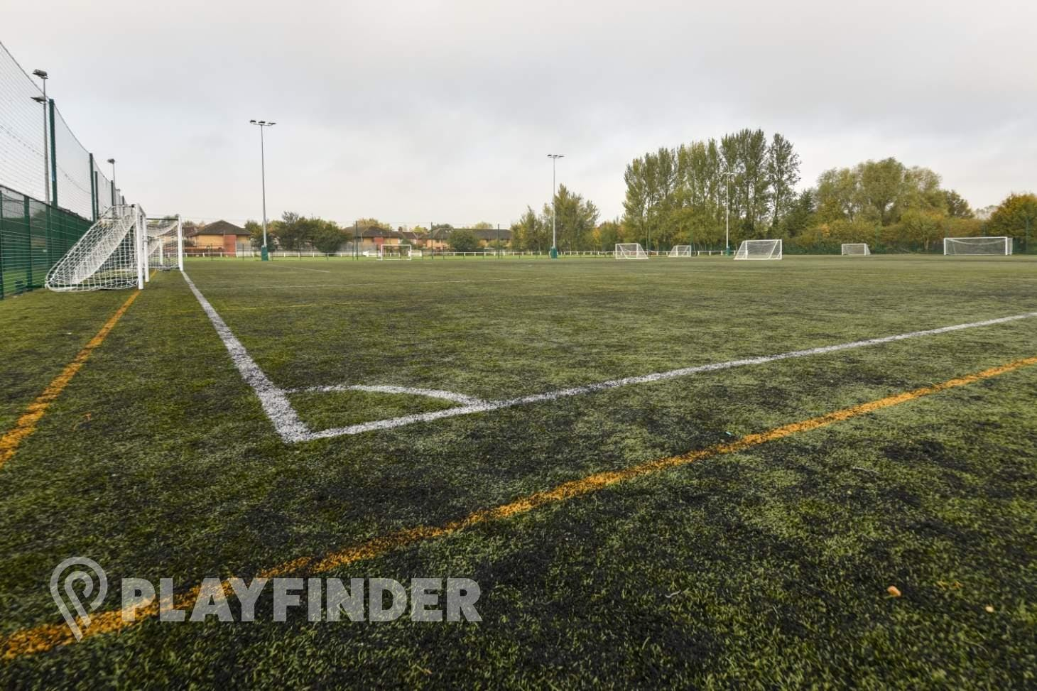 Match Day Centres 7 a side | 3G Astroturf football pitch