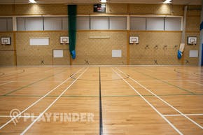 The Petchey Academy Sports Club | Indoor Netball Court