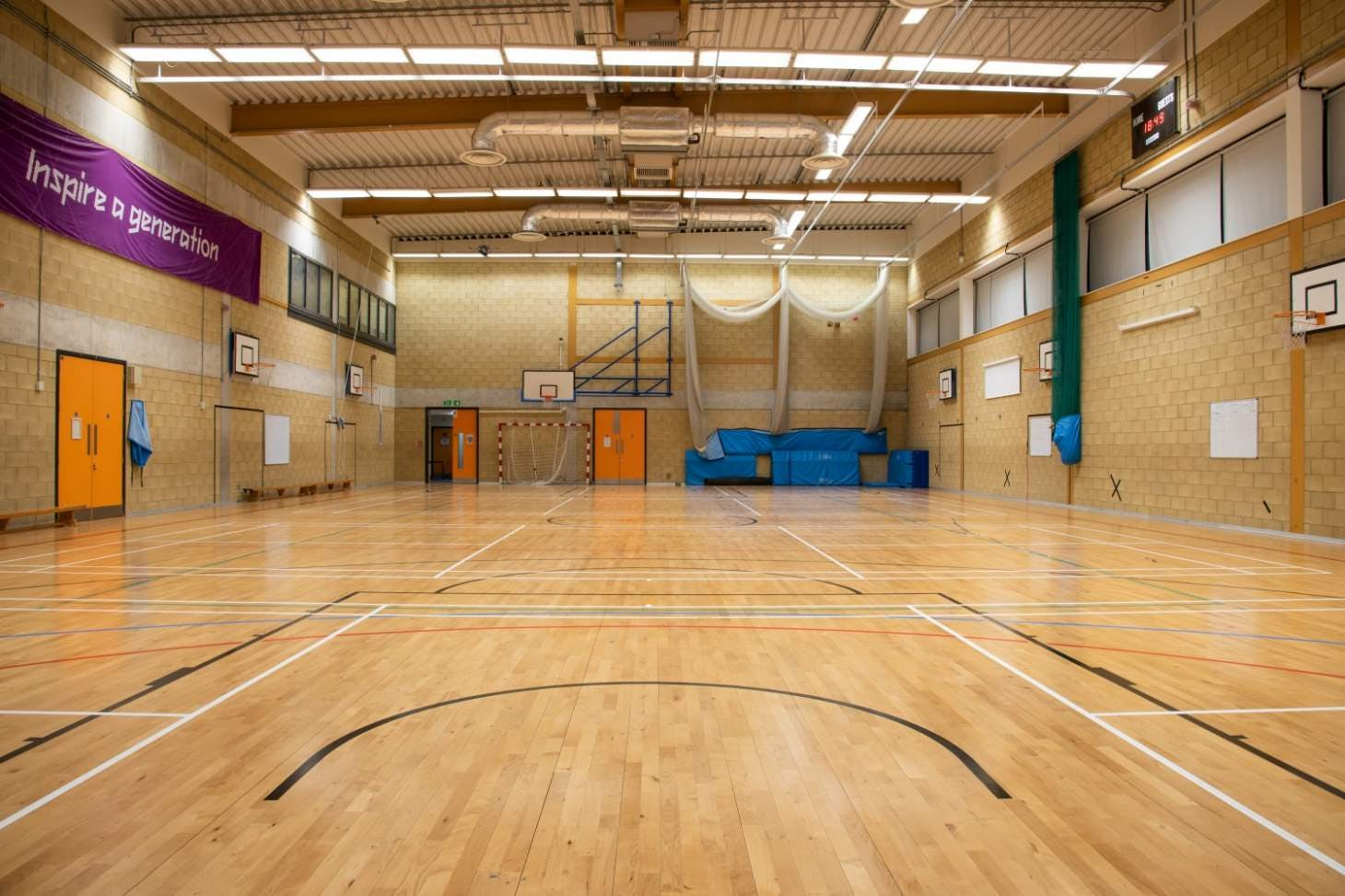The Petchey Academy Sports Club Court | Sports hall handball court