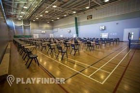 Elmgreen School | Sports hall Volleyball Court