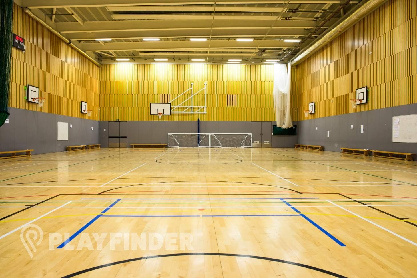 Isaac Newton Academy Sports hall space hire