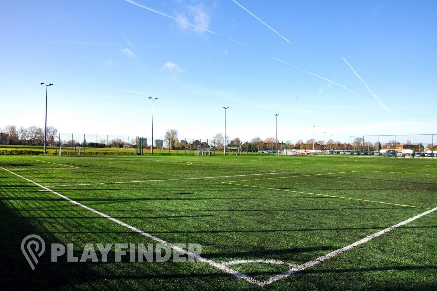 Meridian Sports Club 11 a side | 3G Astroturf football pitch