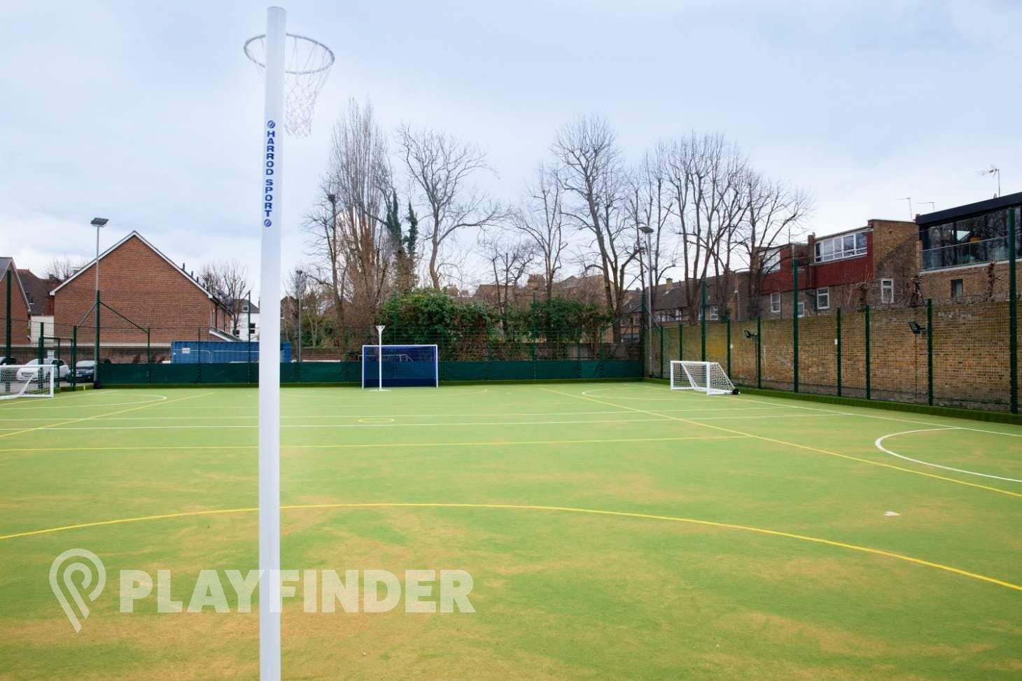 St Francis Xavier College Outdoor | Astroturf netball court