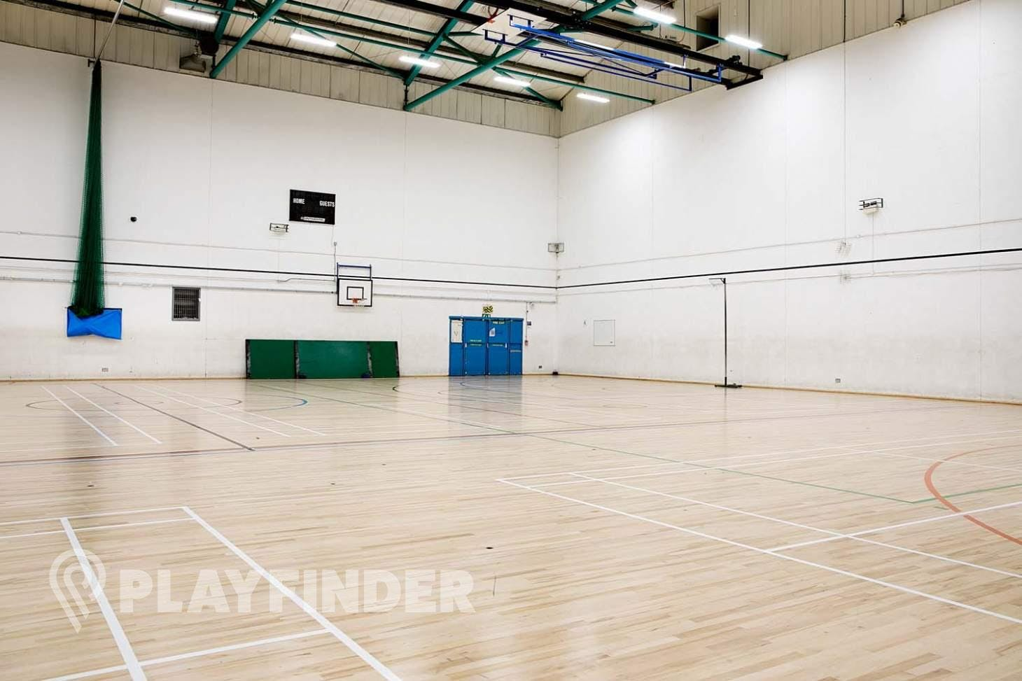 Somers Town Community Sports Centre Indoor badminton court