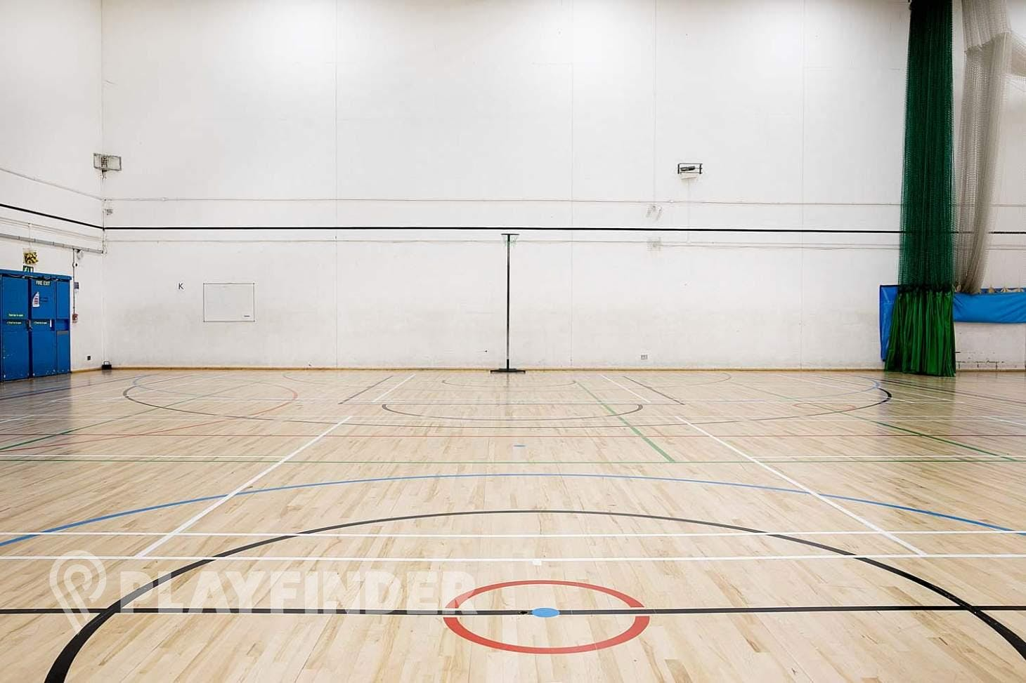 Somers Town Community Sports Centre Indoor netball court