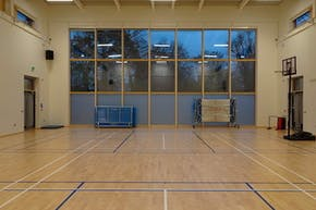 Orchardside School | Sports hall Badminton Court