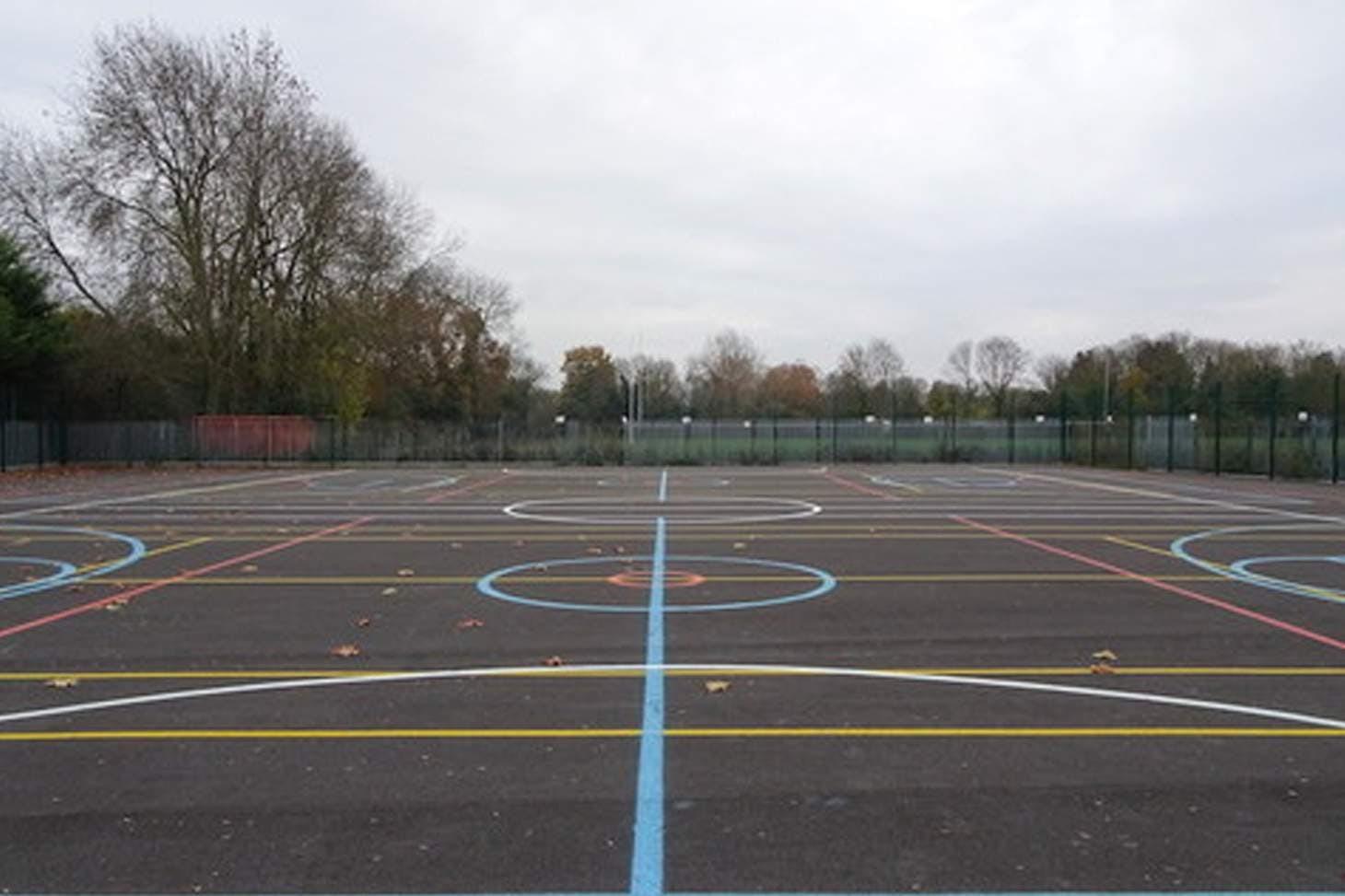 Orchardside School 5 a side   Concrete football pitch