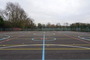 Orchardside School | Hard (macadam) Basketball Court